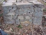 石垣南面のナンバリング